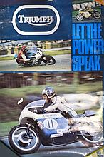 Triumph promotional posters