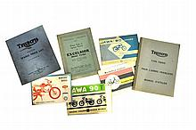 Motorcycle parts catalogues, owners manuals and price lists
