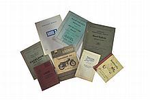 Triumph and BSA technical literature
