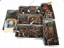 Assorted 'auto jumble' motorcycle spares