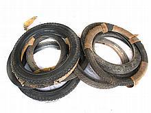 Assorted Veteran / Vintage beaded edge tyres – new old stock