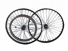 Set of Veteran motorcycle wheels