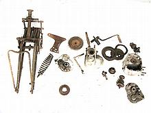 c1929 Norton forks and CS gearbox parts