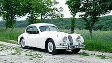 1955 Jaguar XK140 Fixed Head Coupe UK delivered and offered with No Reserve