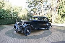 1937 Rolls Royce Phantom III by Park Ward Formerly From the Collection of Sir James Cayzer