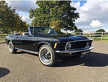 1969 Ford Mustang Convertible Ordered new at the personal request of Henry Ford II