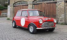 1966 Mini Cooper S BMC Competition Department 1 owner for over 30 years