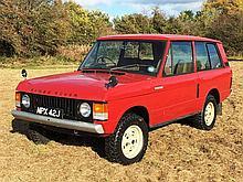 1971 Range Rover Suffix A