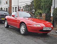 1990 Mazda MX-5 17,000 miles from new