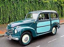 1954 FIAT 500C 'Topolino' Belvedere Estate Car