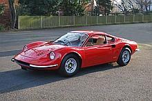 1974 Ferrari 246 GT Dino. Original Right Hand Drive. Ferrari Classiche Certification