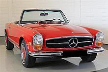 1968 Mercedes-Benz 280SL – manual gearbox