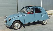 1963 Citroen 2CV One registered owner from new