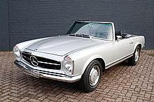 1970 Mercedes-Benz 280SL Body-Off Restoration - Invoices Totalling €125,000
