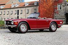 1975 Triumph TR6 – 2 owners from new