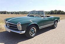 1966 Mercedes-Benz 230SL – 2 owners from new