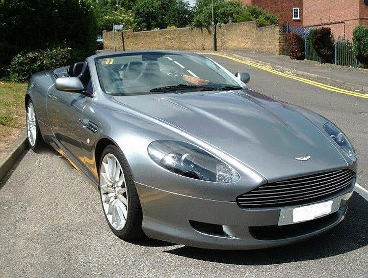 2005 Aston Martin DB9 Volante