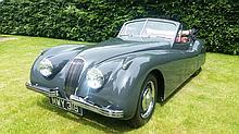 1953 Jaguar XK120 Drophead Coupe