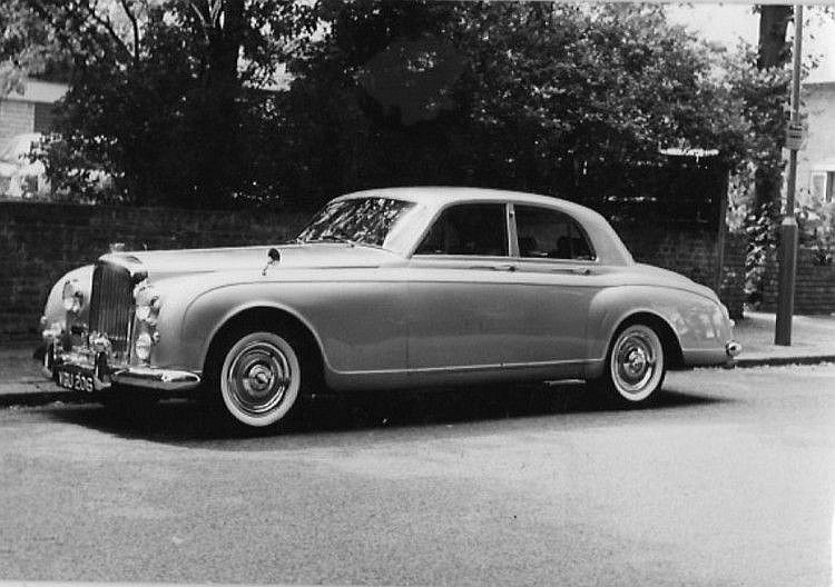 1957 Bentley S1 Continental Sports Saloon Coachwork by James Young