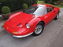 1974 Ferrari 246 GT – E Series Coachwork by Scaglietti - Design by Pininfarina - Original Right Hand Drive
