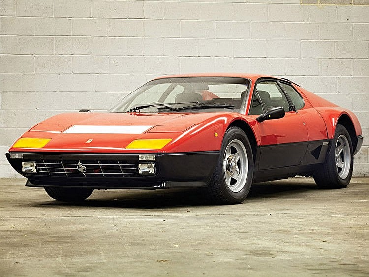1983 Ferrari 512 BBi Original right hand drive - One Owner and only 14 ,000 miles from new