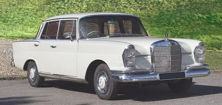 1962 Mercedes-Benz 220 Sb 'Fintail' Saloon