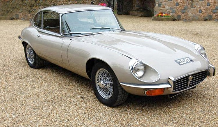 1972 Jaguar E-Type Series III V12 Coupé