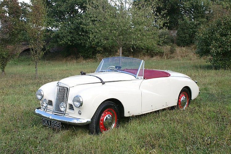1954 Sunbeam Alpine Special Official Works Demonstrator and Journalist Car