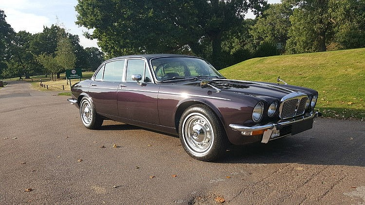 1974 Daimler Double Six Vanden Plas One former keeper, 47,000 miles from new