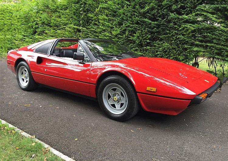 1981 Ferrari 308 GTSi – Coachwork by Scaglietti Design by Pininfarina - Full Ferrari Service History from new