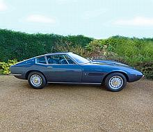1972 Maserati Ghibli 4.9 SS Manual One of Only 8 Right Hand Drive cars ever built