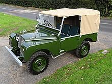 """1951 Land Rover Series 1 80"""" Fully restored this year"""