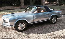 1968 Mercedes-Benz 280SL Original Right Hand Drive