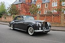 1962 Rolls-Royce II Drophead Coupé Adaptation by H.J. Mulliner