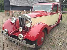 1930 Rolls Royce 20/25 Hooper Sports Saloon