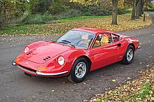 1974 Ferrari 246 GT – E series. Original Right Hand Drive - Ferrari Classiche Certification