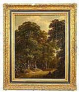 van VRIES, ROELOF JANSZ, c 1631-c 1681 Vandrare på