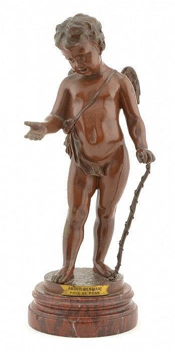 DEBUT, JEAN, DIDIER, 1824-1893 'Amour Mendiant'.