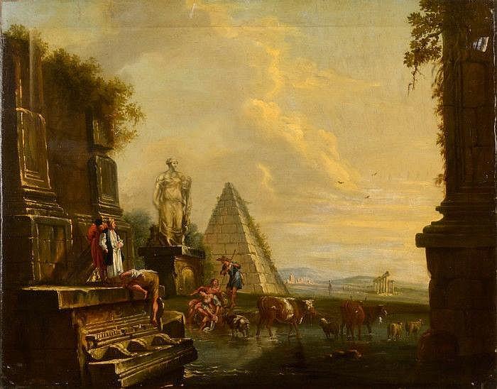 PANINI, FRANCESCO, 1745-1812 Hans atelje /art.