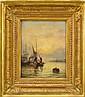 WILLIAM ANSLOW THORNLEY - C.1858-1898 Hamnmotiv i, William Anslow Thornley, Click for value