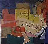 Susanne Roger, blandteknik, 18,5X17 cm.