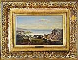 ZIMMERMANN, ALBERT, 1808-1888 Kustmotiv från