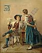 GERARD, THEODORE, 1829-1895 Interiör med man och, Théodore Gérard, Click for value
