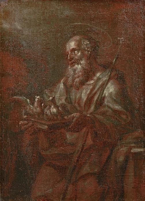 CORNELIUS, PETER van, 1783-1867 Tillskriven. Den