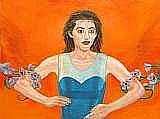 MUSSOFF, JODY, FÖDD 1952 Kvinna. Signerad och