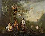 POELENBURG, CORNELIUS, 1586-1667 Hans krets /art.
