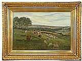 SLATER, JOHN, FALCONAR, 1857-1937 Sommarlandskap