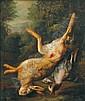 WEENIX, JAN, 1640-1719 Tillskriven. Jaktstilleben