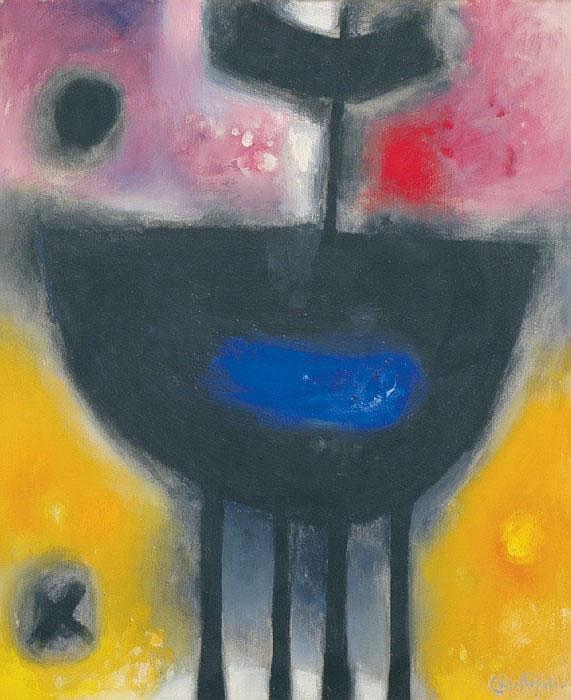 CHRISTOFOROU, JOHN, född 1921 'Bateau'. Signerad.