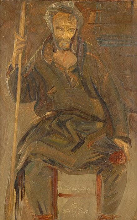NIELSEN, EJNAR, 1872-1956 'Nienan Pieti -